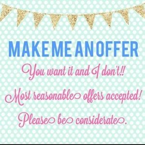 🛍️Make me an offer I can't refuse!🛍️